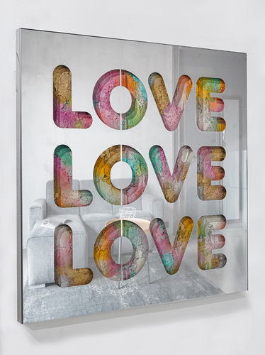 SERIE COLORS - Love love love, 2021