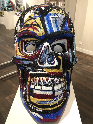 "SKULL large ""MASTERPIECE"" feat. Basquiat, 2019"