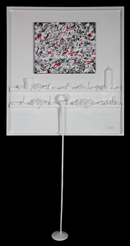 Flow 93 - Hommage à Pollock noir