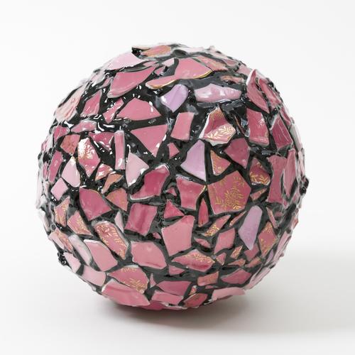 Balancing Act-Pink Sphere