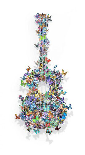 Butterflies guitar ''Making beautiful Music''