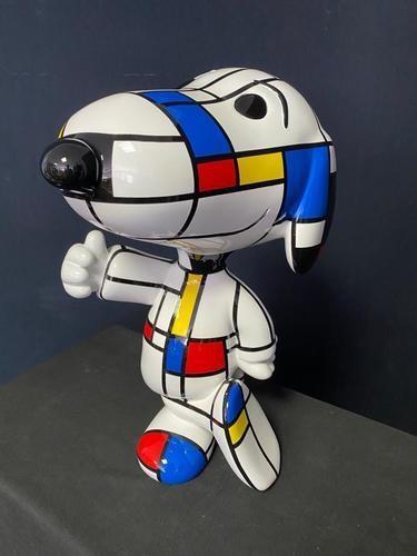 SNOOPY - Mondrian style, 2020