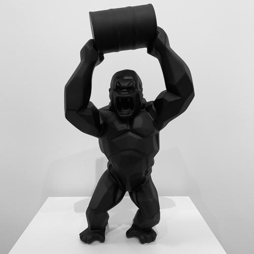 Wild Kong au bidon - Noir Mat (45 cm)