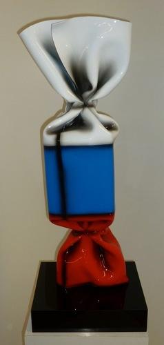 Wrapping bonbon drapeau Russie N°1051