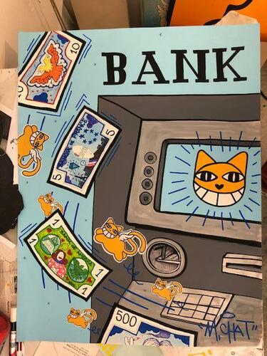 Bankomat K6, 2021