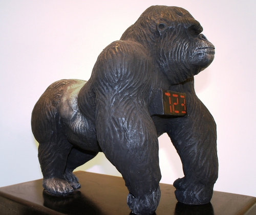 Gorilla in piedi