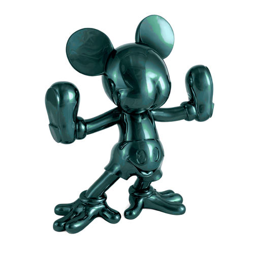 Freaky Mouse - Dark acqua green