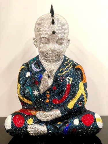 """PUNKBUDDHA large """"THE STARS IN YOUR EYES"""" feat. Miro, 2019"""