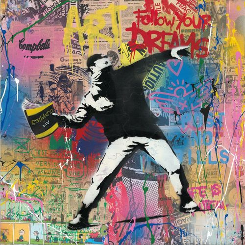 Banksy Thrower, 2019 (P103279)