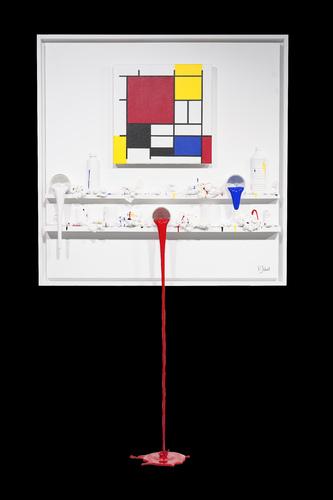 Flow 177 - Hommage à Mondrian