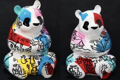 Jumeaux Pandas