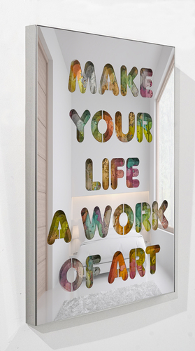 SERIE COLORS - Make your life a work of art, 2021