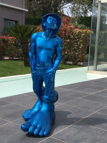 Le siffleur 100 - Résine bleue