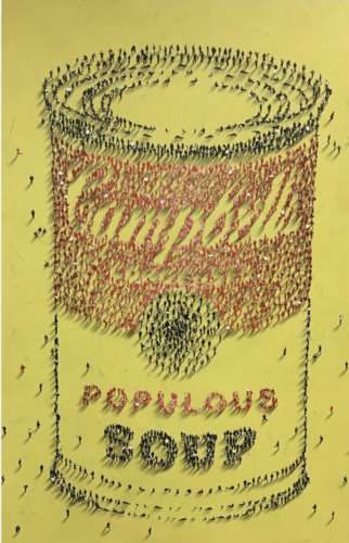 Populous Soup Yellow, 2020