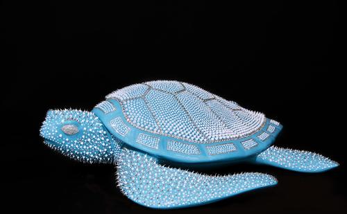 Tortue - Bleu Turquoise,  2021