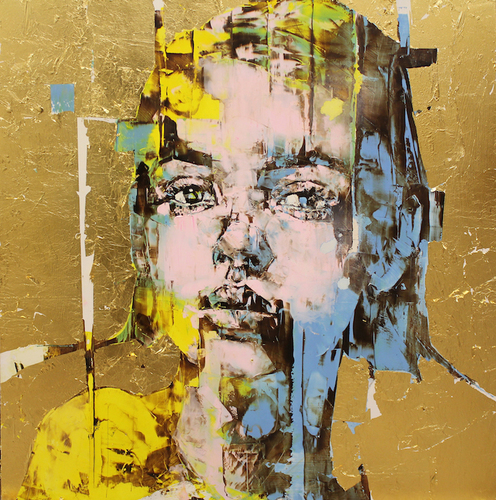 The Di-Gold Experience 100x100 cm
