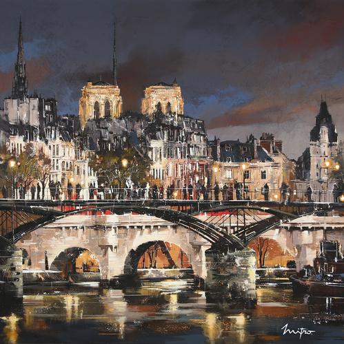 Pont des Arts by night