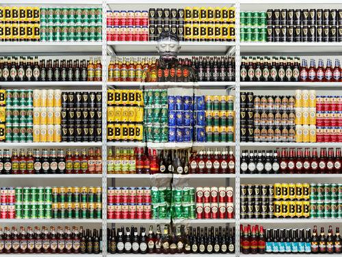 Hiding in London No. 5 - Beer Rack, 2014