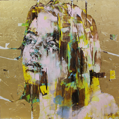 The Di-Gold Experience 100x100cm