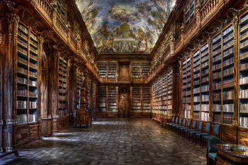 Philosophical Hall - Strahov Monastery (Prag)