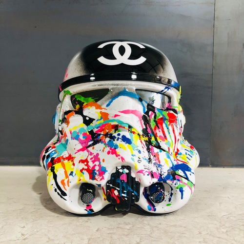 "Casque Stormtrooper ""Channel party"", 2019"