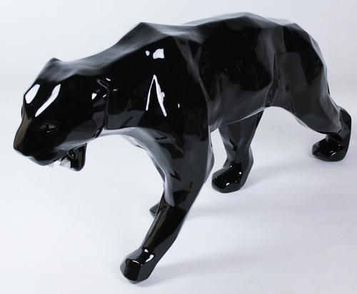 Wild panther - black w/ bright teeths