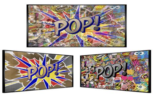 Pop art explosion