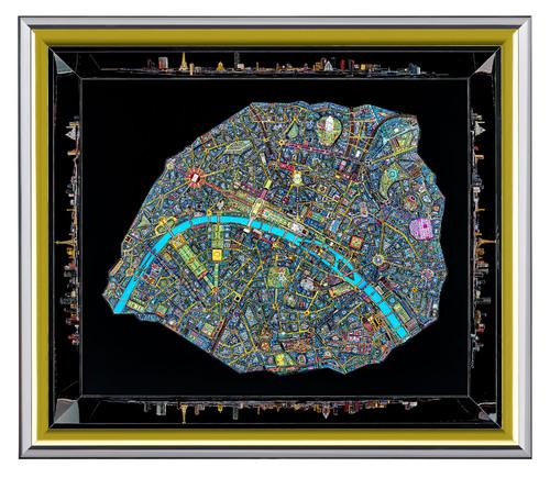 Paris 3D - BOX LUMINEUSE